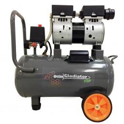 Compresor 24 Lts sin aceite Gladiator