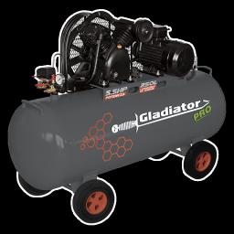 Compresor 250 litro 5.5HP Gladiator