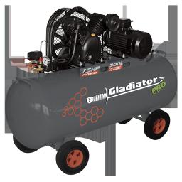 Compresor 300 litro 7.5HP Gladiator