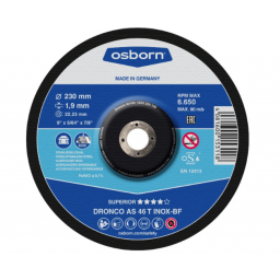 Disco Corte Inox. 230X1.9 Special - AS46TINOX
