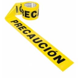 Cinta amarilla Precaucion 90mt Truper  BAN-PRE-300