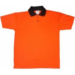 Remera Naranja (con cuello)