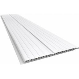 Cielorraso PVC 7mm blanco - 20cm x 4 mts (obra seca)