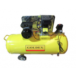 Compresor 200 litros 3 HP Monofasico Goldex