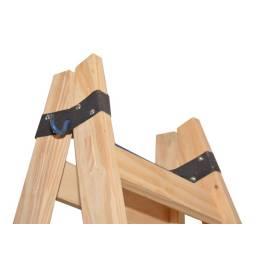 Escalera madera Pintor 9 escalones L.M.