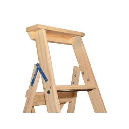 Escalera madera Familiar 5 escalones L.M.